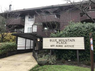 "Main Photo: 102 1177 HOWIE Avenue in Coquitlam: Central Coquitlam Condo for sale in ""BLUE MOUNTAIN PLACE"" : MLS® # R2224908"
