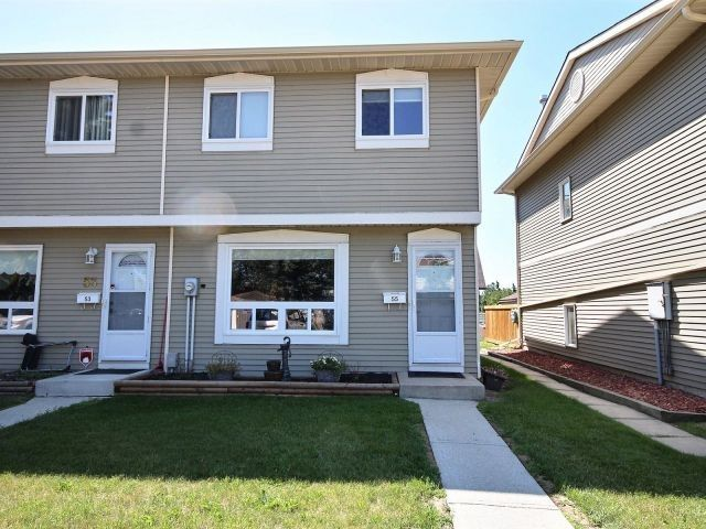 Main Photo: 55 2131 Oak Street: Sherwood Park Townhouse for sale : MLS®# E4122813