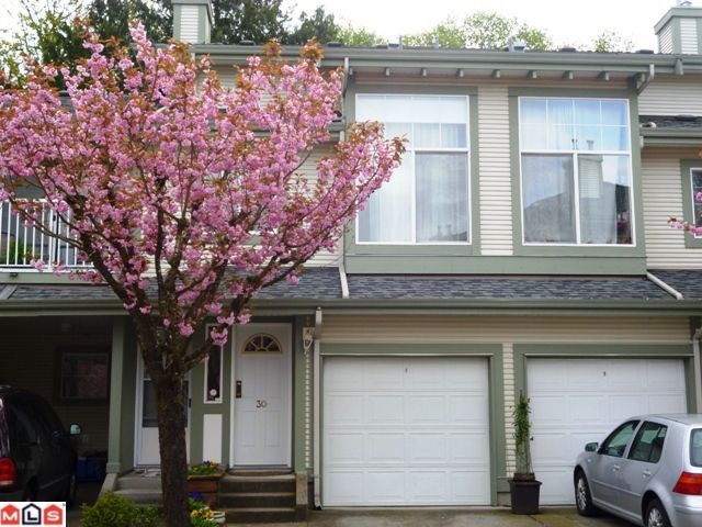 Main Photo: 30 8892 208th Street in Langley: Walnut Grove Townhouse for sale : MLS® # F1210685