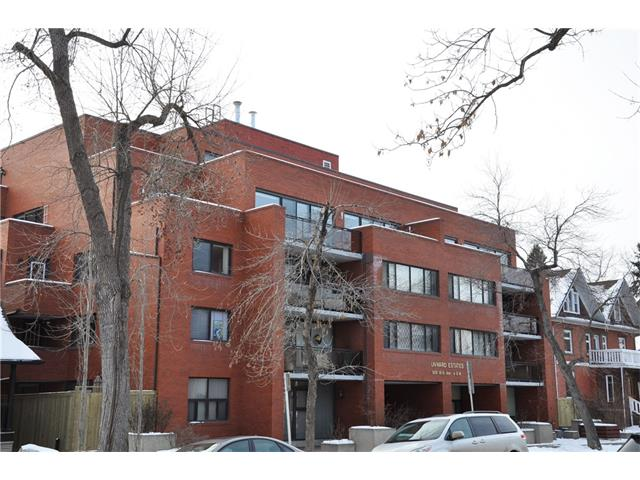 Main Photo: 402 929 18 Avenue SW in Calgary: Lower Mount Royal Condo for sale : MLS® # C4044007
