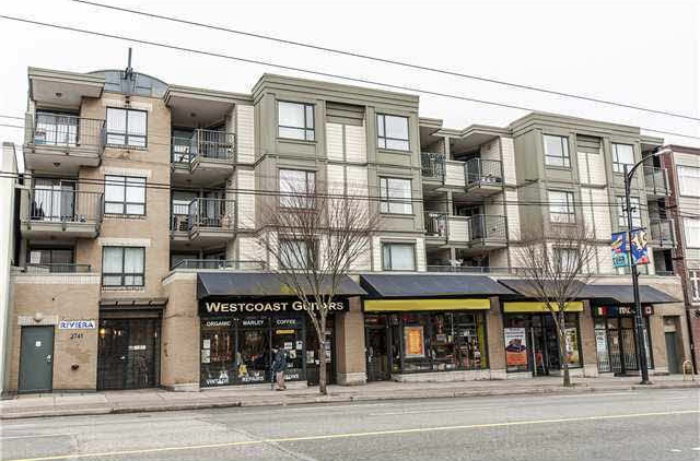 "Main Photo: 306 2741 E HASTINGS Street in Vancouver: Hastings East Condo for sale in ""THE RIVIERA"" (Vancouver East)  : MLS® # R2113559"