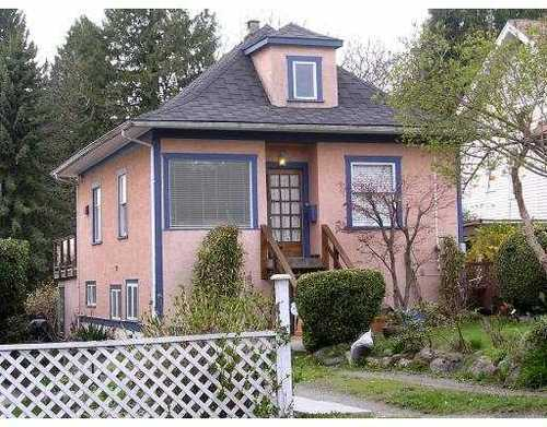 Main Photo: 2345 WESTERN Ave in North Vancouver: Home for sale : MLS®# V762470