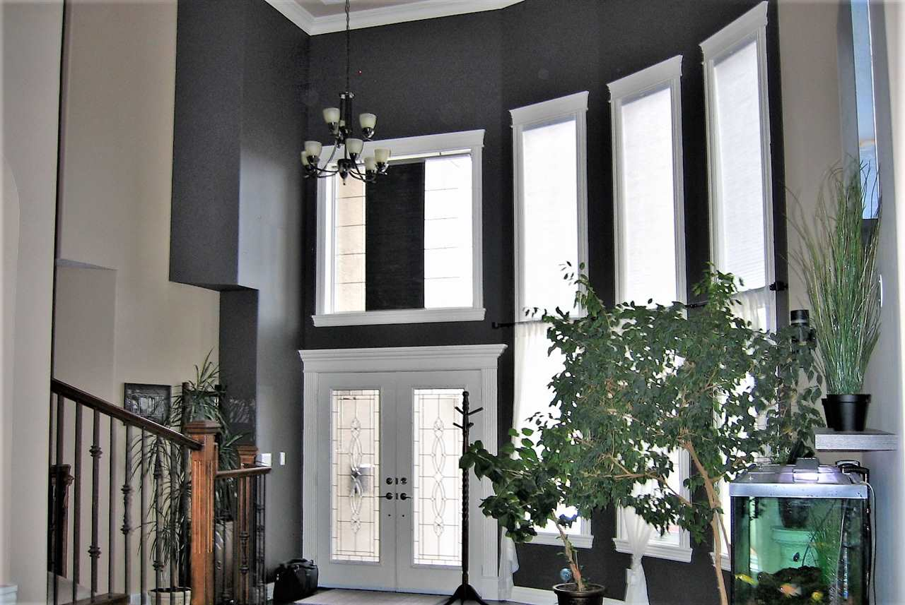Dramatic front entrance with full height ceilings