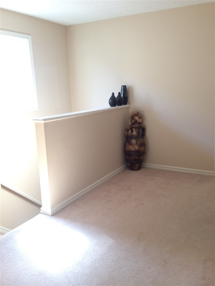 upstairs nook can easily accommodate a small desk