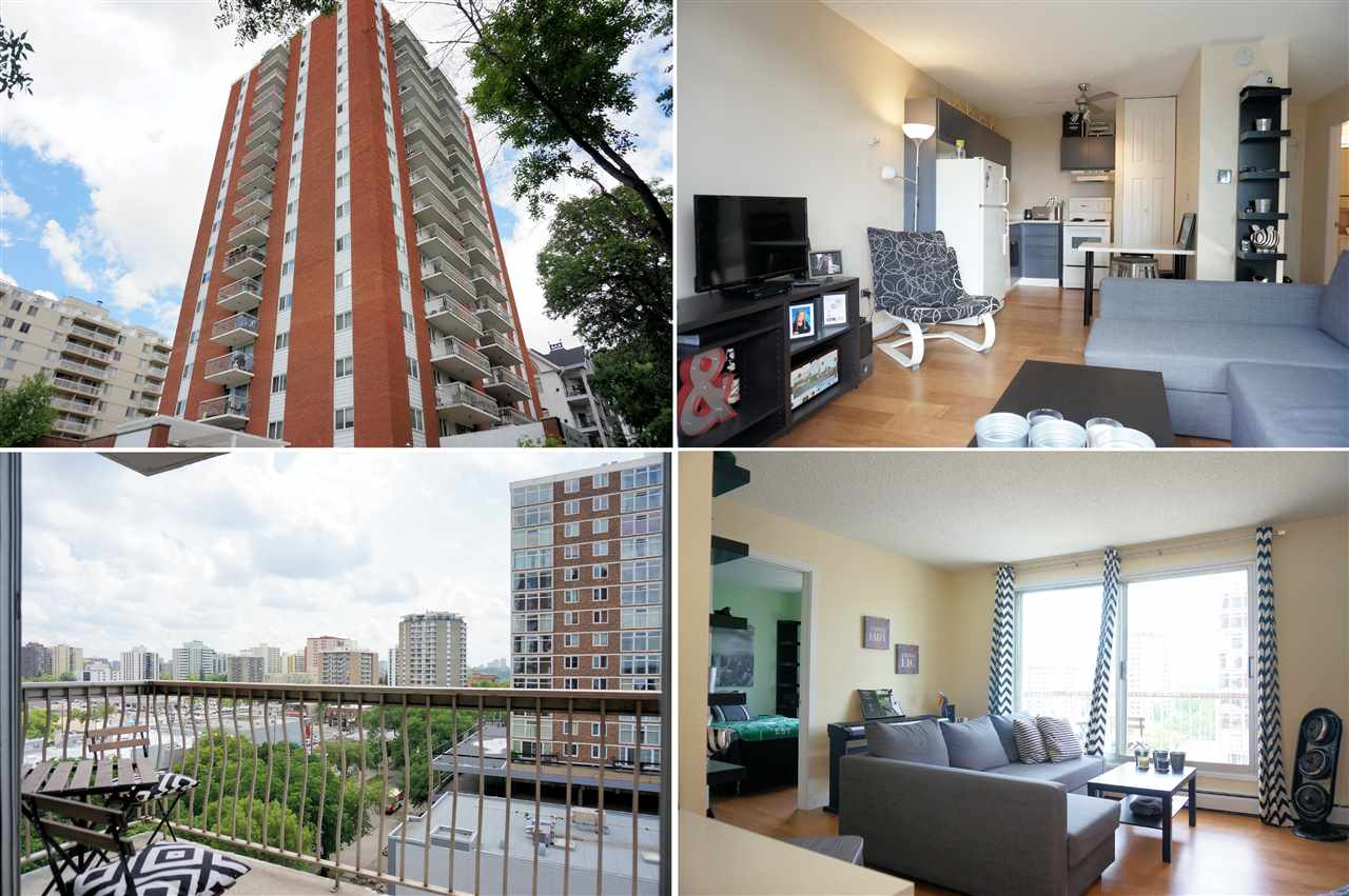 Main Photo: 905 10150 117 Street in Edmonton: Zone 12 Condo for sale : MLS® # E4069622