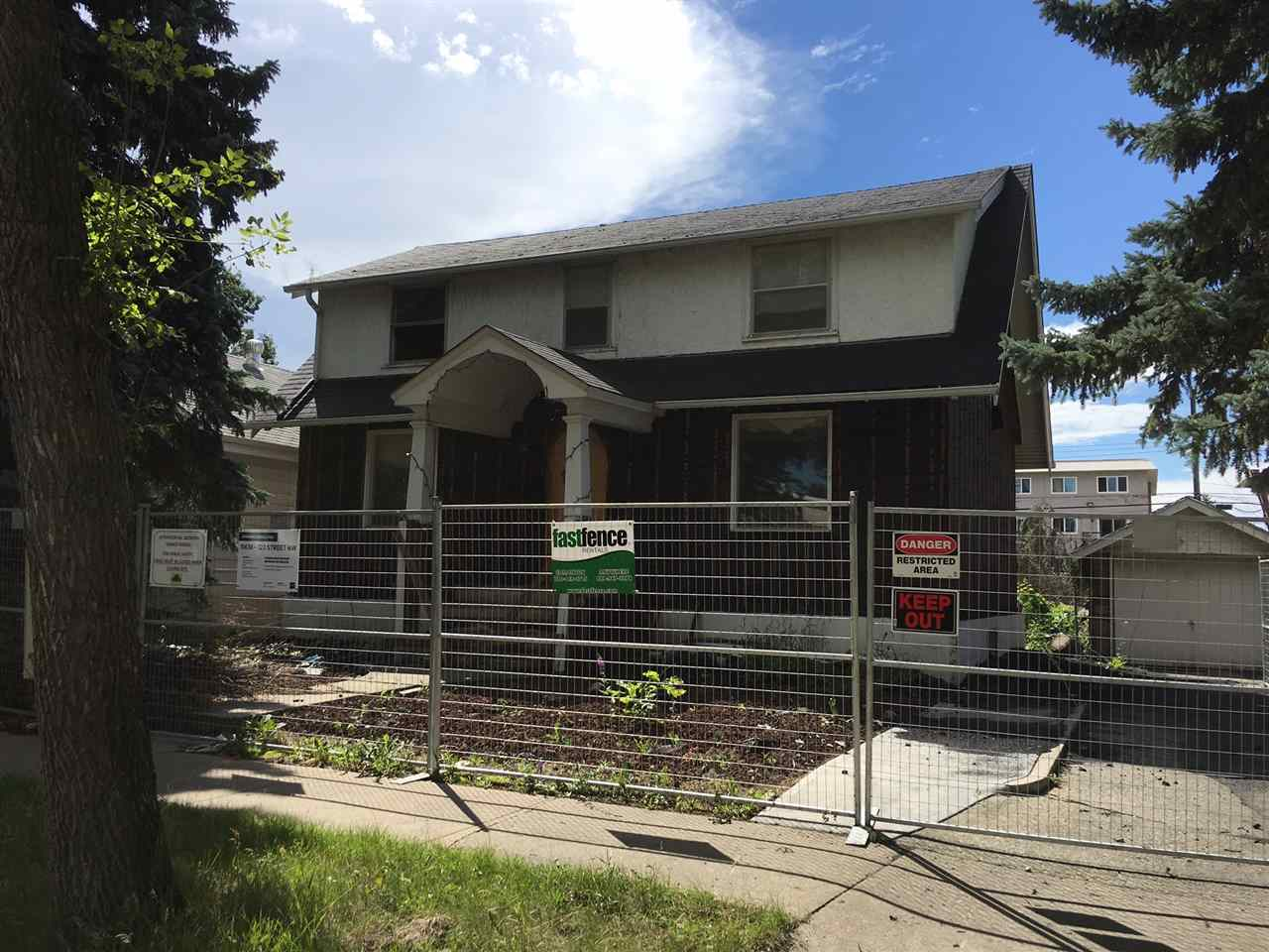 Main Photo: 11438 123 Street in Edmonton: Zone 07 Vacant Lot for sale : MLS® # E4074972