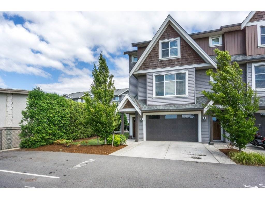 "Main Photo: 1 7428 EVANS Road in Sardis: Sardis West Vedder Rd Townhouse for sale in ""Countryside Estates"" : MLS® # R2191400"