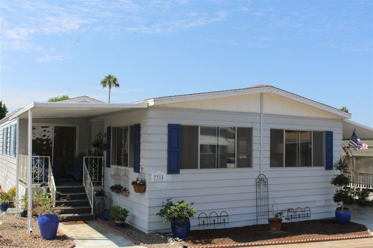 Main Photo: CARLSBAD SOUTH Manufactured Home for sale : 2 bedrooms : 7315 San Bartolo #369 in Carlsbad