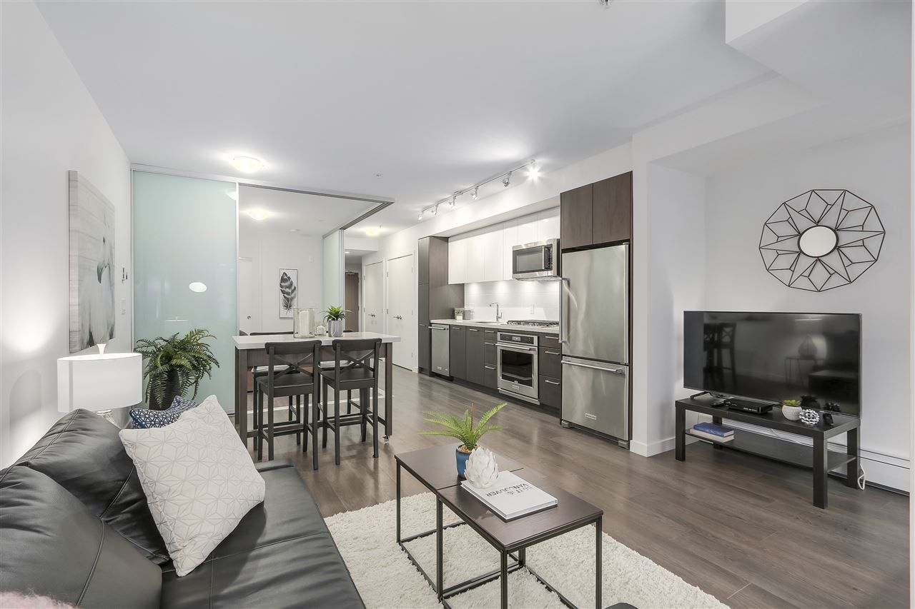 "Main Photo: 521 384 E 1ST Avenue in Vancouver: Mount Pleasant VE Condo for sale in ""CANVAS"" (Vancouver East)  : MLS®# R2230543"