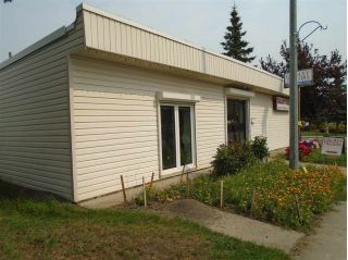 Main Photo: 15716 100 Avenue in Edmonton: Zone 22 Retail for sale : MLS® # E4092711