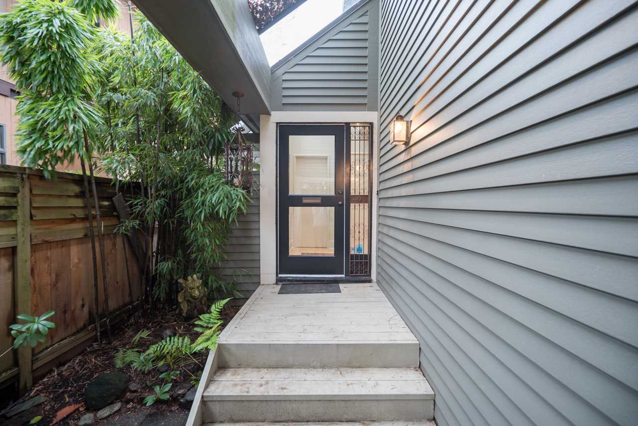 Walk through the privacy of your front garden to your new front door.
