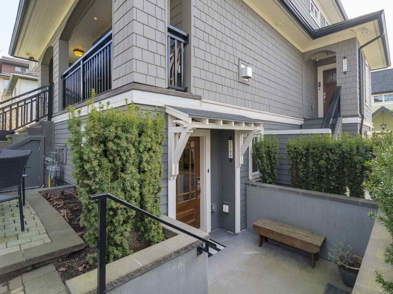 Main Photo: 2348 W 8TH AVENUE in Vancouver: Kitsilano Townhouse for sale (Vancouver West)  : MLS®# R2247812
