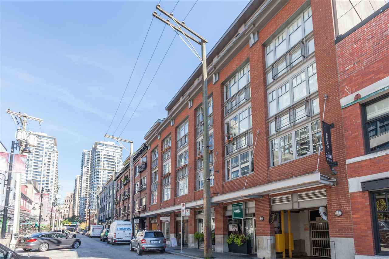 Main Photo: 405 1072 HAMILTON Street in Vancouver: Yaletown Condo for sale (Vancouver West)  : MLS®# R2267838