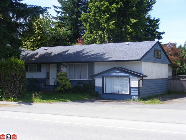 Main Photo: 10865 140 Street in Surrey: House for sale : MLS® # F1216102