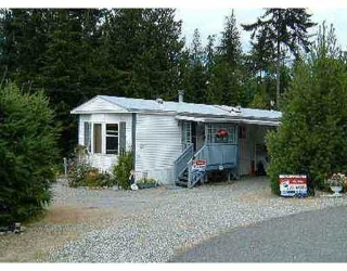 Main Photo: 21 1113 FLUME RD in Roberts_Creek: Roberts Creek Manufactured Home for sale (Sunshine Coast)  : MLS® # V406867