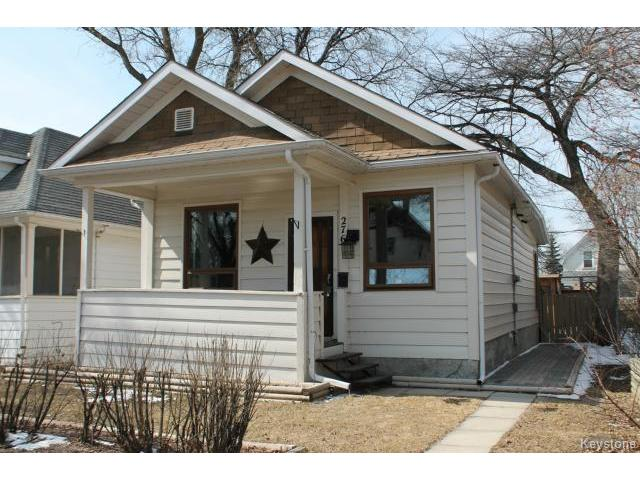 Main Photo: 276 Marjorie Street in WINNIPEG: St James Residential for sale (West Winnipeg)  : MLS® # 1507716