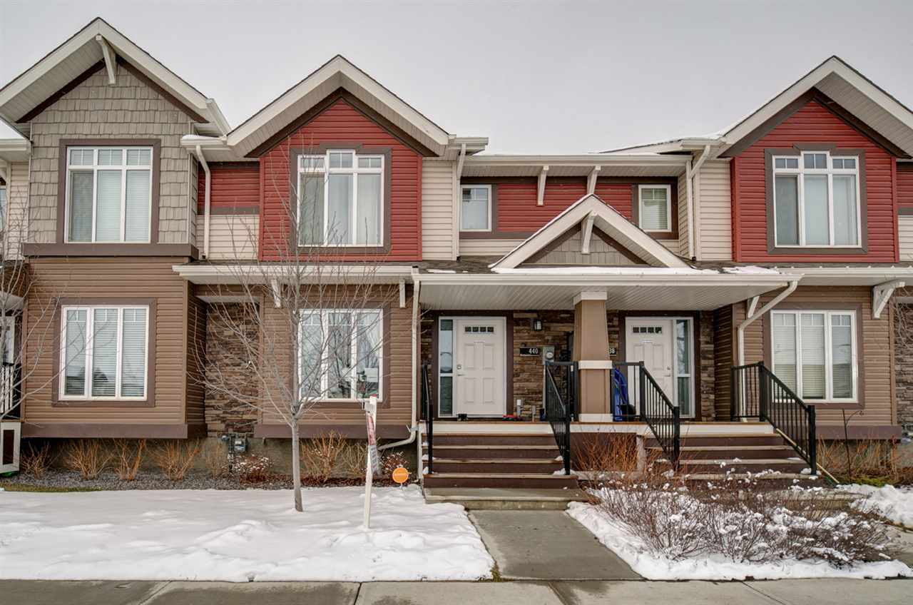 Main Photo: 440 CHAPPELLE Drive in Edmonton: Zone 55 Attached Home for sale : MLS(r) # E4059450