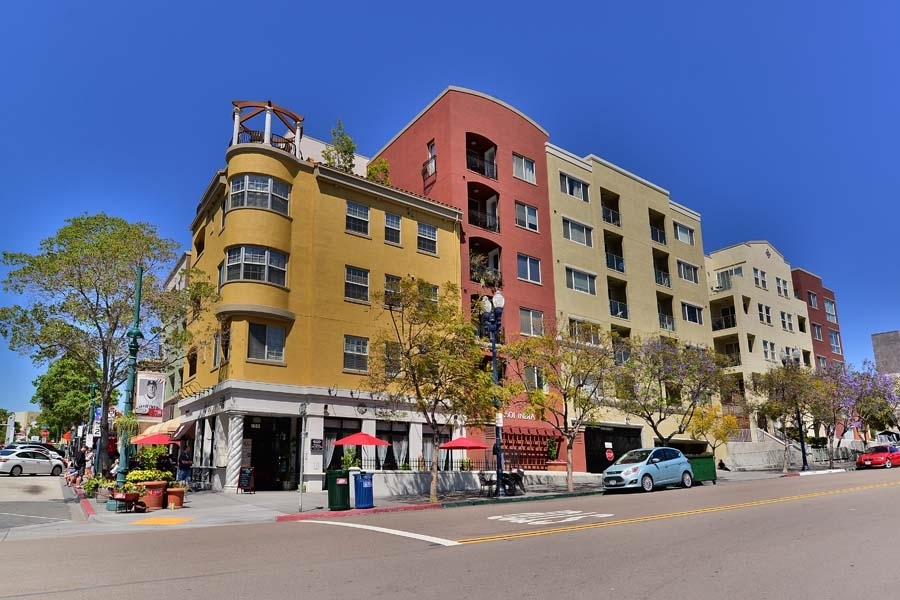 Main Photo: DOWNTOWN Condo for rent : 1 bedrooms : 1601 India Street #512 in San Diego