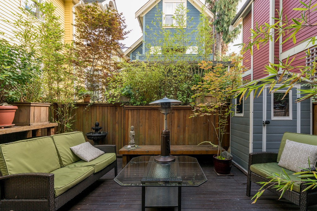 Photo 24: Photos: 849 KEEFER STREET in Vancouver: Mount Pleasant VE Townhouse for sale (Vancouver East)  : MLS®# R2204383