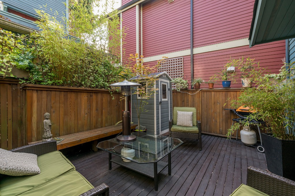Photo 25: Photos: 849 KEEFER STREET in Vancouver: Mount Pleasant VE Townhouse for sale (Vancouver East)  : MLS®# R2204383