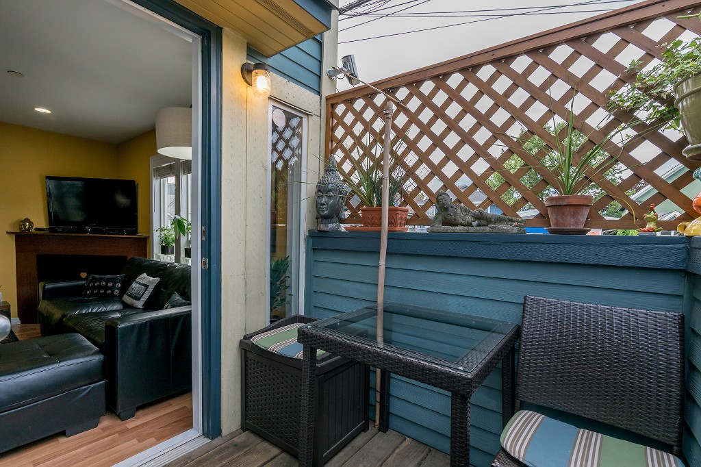 Photo 10: Photos: 849 KEEFER STREET in Vancouver: Mount Pleasant VE Townhouse for sale (Vancouver East)  : MLS®# R2204383