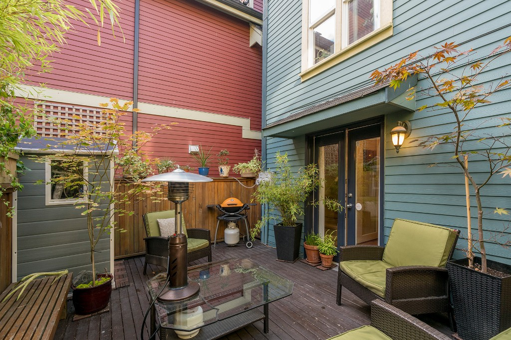 Photo 27: Photos: 849 KEEFER STREET in Vancouver: Mount Pleasant VE Townhouse for sale (Vancouver East)  : MLS®# R2204383