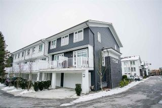 "Main Photo: 153 548 FOSTER Avenue in Coquitlam: Coquitlam West Townhouse for sale in ""Black + Whites"" : MLS® # R2241357"