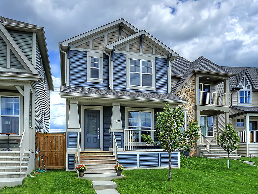 Main Photo: 120 Cranford Crescent SE in Calgary: Detached for sale : MLS®# C4077192