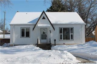 Main Photo: 283 Duffield Street in Winnipeg: Deer Lodge Residential for sale (5E)  : MLS® # 1805279
