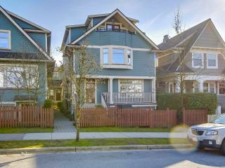 "Main Photo: 1516 GRAVELEY Street in Vancouver: Grandview VE Townhouse for sale in ""GRAVELEY HEIGHTS"" (Vancouver East)  : MLS® # R2246874"