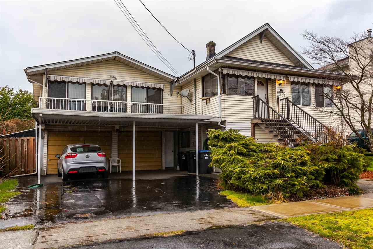 Main Photo: 233 ARCHER Street in New Westminster: The Heights NW House for sale : MLS®# R2250558