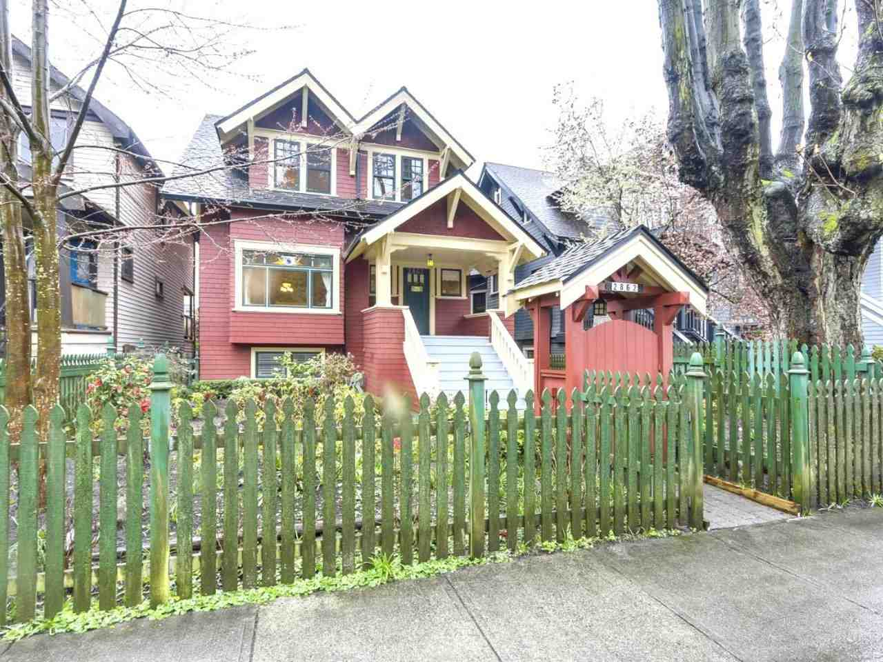 Main Photo: 2862 W 3RD Avenue in Vancouver: Kitsilano House for sale (Vancouver West)  : MLS®# R2253793