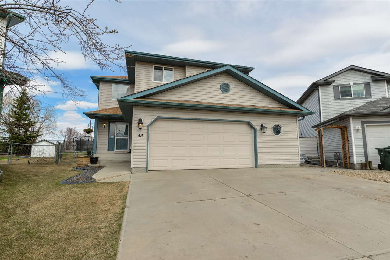 Main Photo: 43 Ironwood Fairway Close: Stony Plain House for sale : MLS®# E4109017