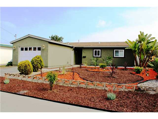 Main Photo: CHULA VISTA House for sale : 2 bedrooms : 1613 Marl Avenue