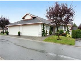 "Main Photo: 35 31406 UPPER MACLURE Road in Abbotsford: Abbotsford West Townhouse for sale in ""Ellwood Estates"" : MLS®# R2014762"