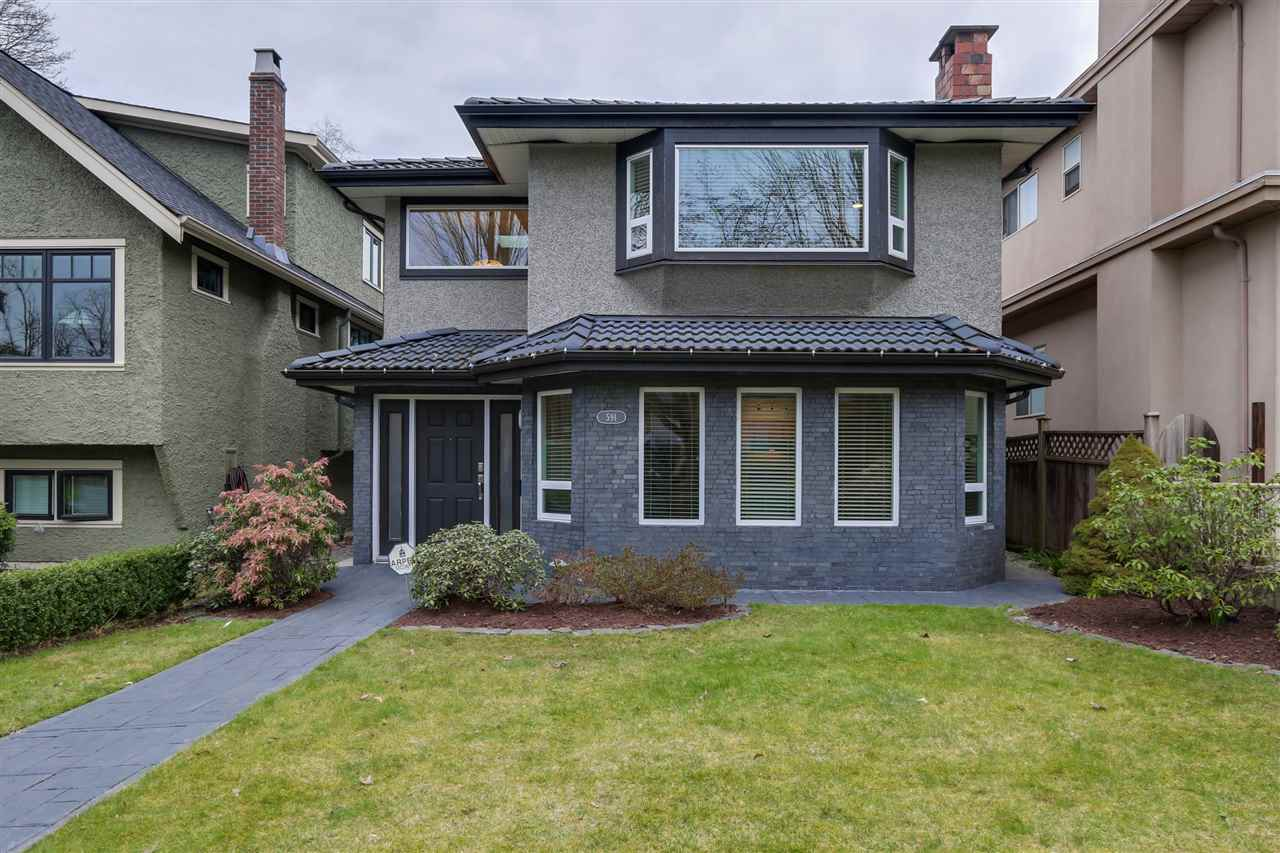 "Main Photo: 591 W 23RD Avenue in Vancouver: Cambie House for sale in ""Cambie Village"" (Vancouver West)  : MLS® # R2039608"