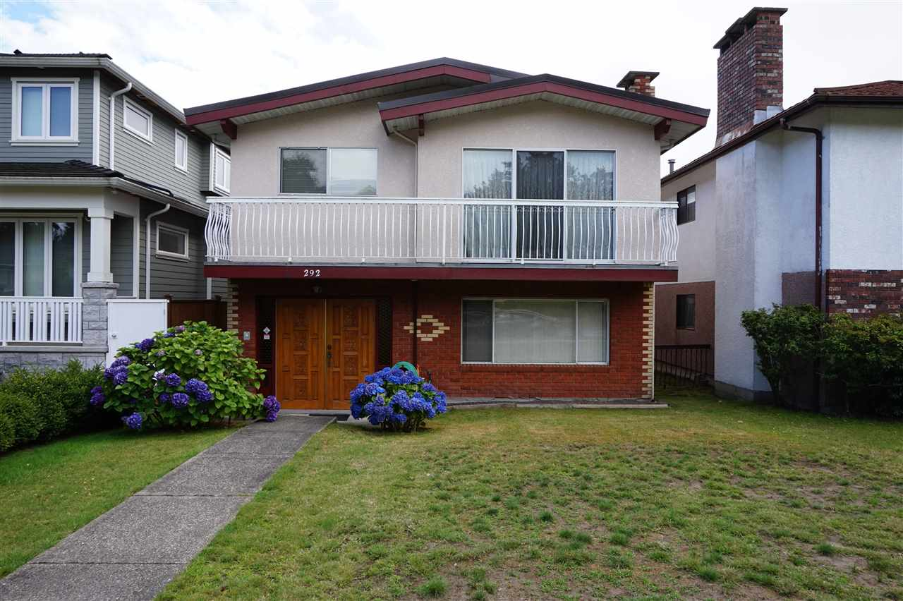 Main Photo: 292 W 45TH Avenue in Vancouver: Oakridge VW House for sale (Vancouver West)  : MLS® # R2092168