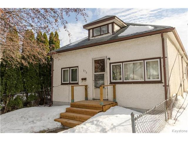 Main Photo: 372 Eugenie Street in Winnipeg: Norwood Residential for sale (2B)  : MLS® # 1703322