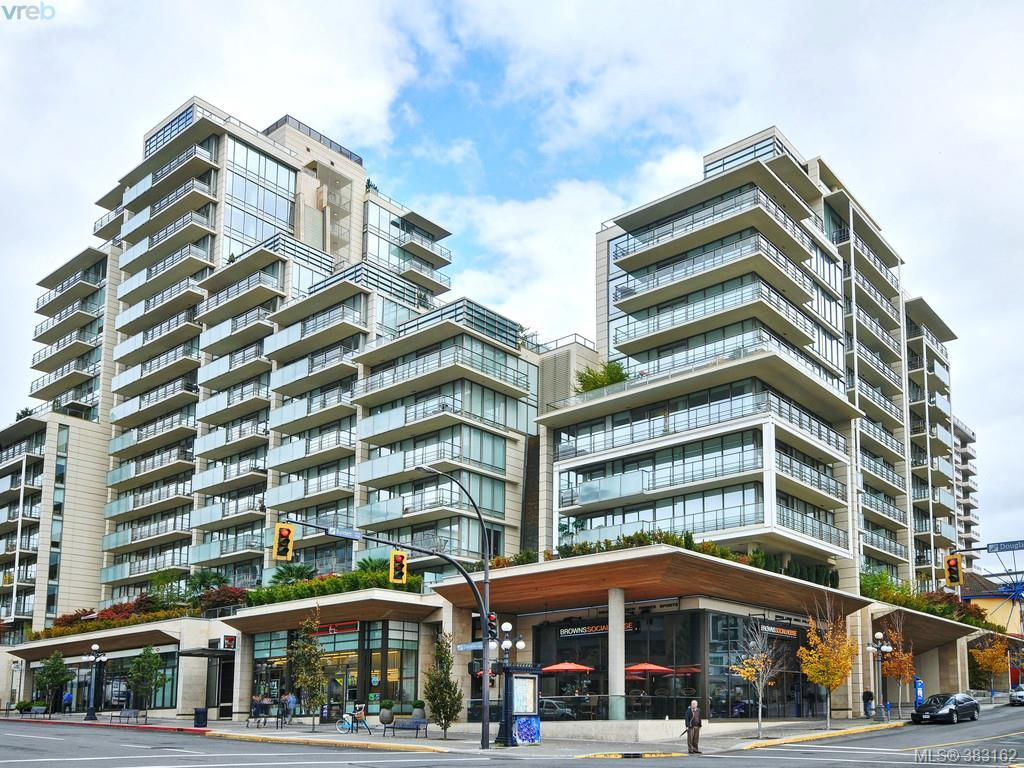 Main Photo: 803 708 Burdett Avenue in VICTORIA: Vi Downtown Condo Apartment for sale (Victoria)  : MLS® # 383162