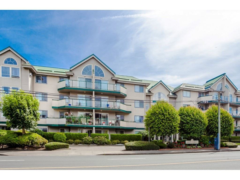 "Photo 1: Photos: 305 32044 OLD YALE Road in Abbotsford: Abbotsford West Condo for sale in ""Green Gables"" : MLS® # R2211381"