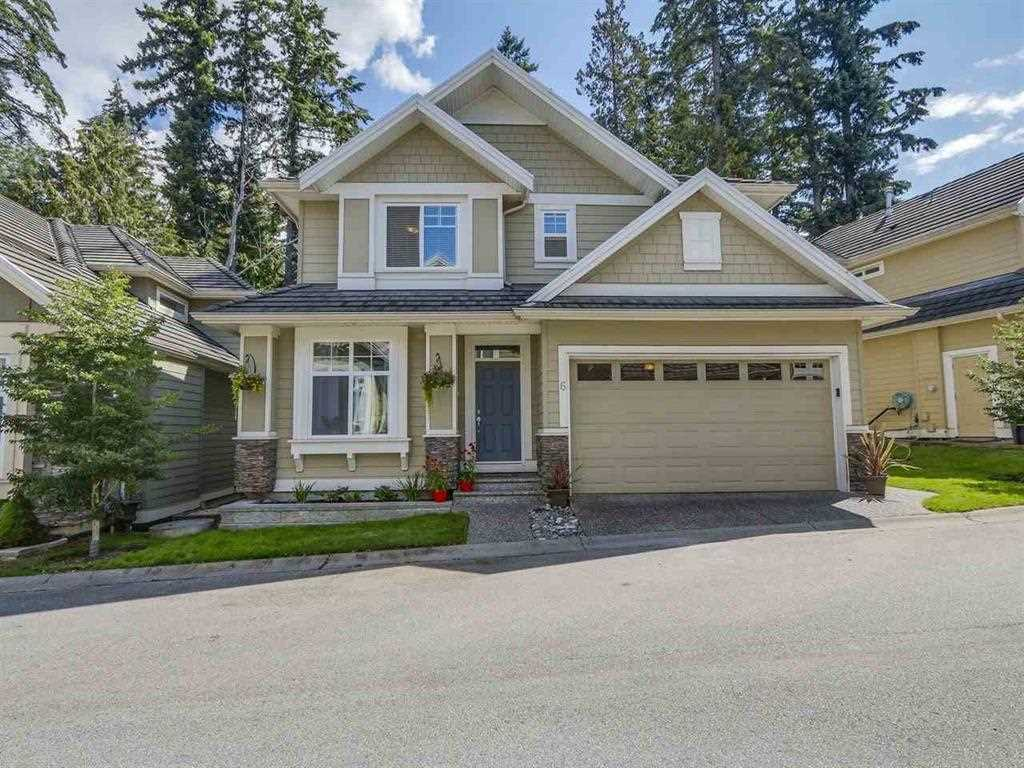 "Photo 1: Photos: 6 3502 150A Street in Surrey: Morgan Creek Townhouse for sale in ""Barber Creek Estates"" (South Surrey White Rock)  : MLS® # R2220742"