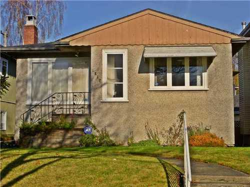 Main Photo: 4217 16TH Ave W in Vancouver West: Point Grey Home for sale ()  : MLS® # V980971