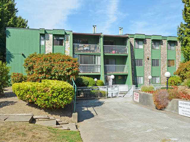 "Main Photo: 201 3901 CARRIGAN Court in Burnaby: Government Road Condo for sale in ""LOUGHEED ESTATES"" (Burnaby North)  : MLS® # V1140211"