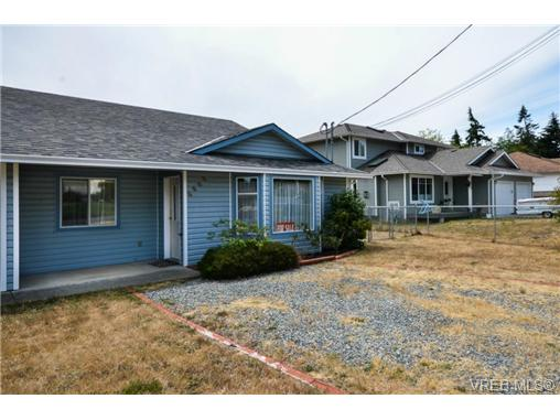 Main Photo: 6909 Larkspur Road in SOOKE: Sk Broomhill Strata Duplex Unit for sale (Sooke)  : MLS® # 362074
