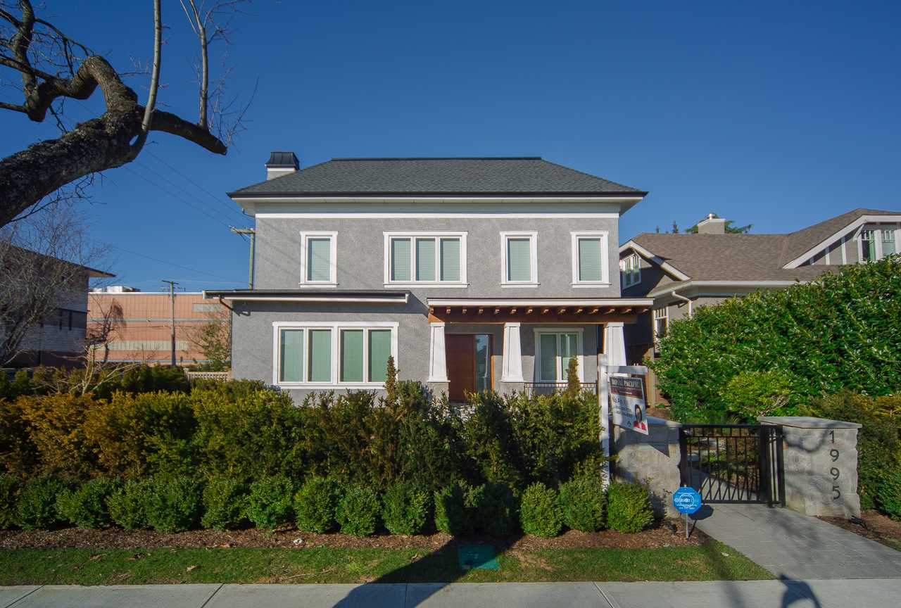 Main Photo: 1995 W 42ND Avenue in Vancouver: Kerrisdale House for sale (Vancouver West)  : MLS(r) # R2097440