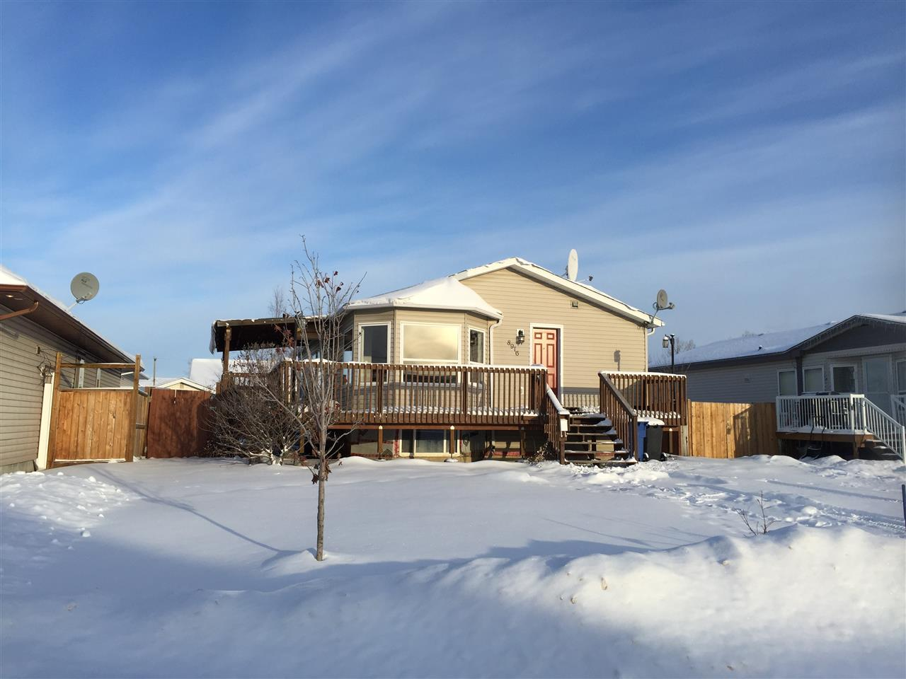 Main Photo: 8916 98 Avenue in Fort St. John: Fort St. John - City SE Manufactured Home for sale (Fort St. John (Zone 60))  : MLS® # R2126969