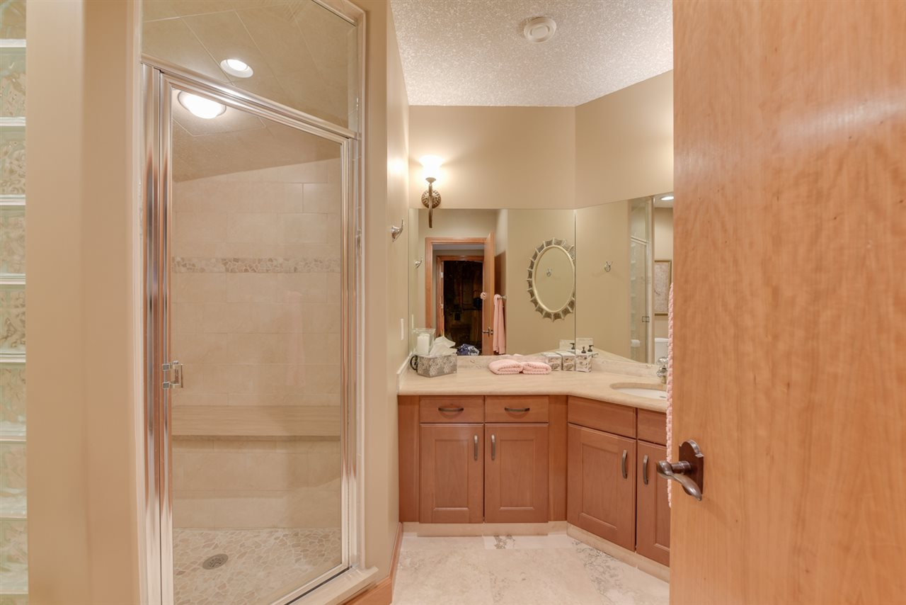 3 piece bathroom with steam shower