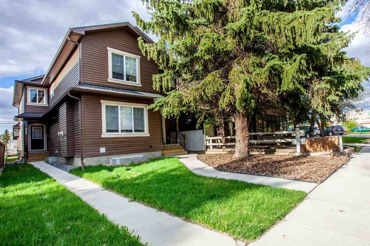 Main Photo: 10916 71 Avenue in Edmonton: Zone 15 House Half Duplex for sale : MLS(r) # E4065048