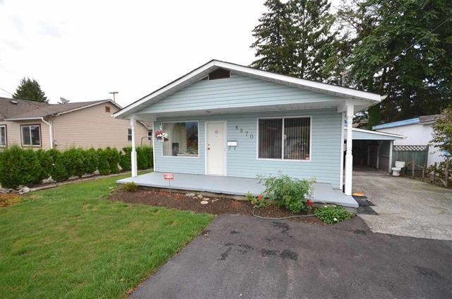 Main Photo: 8870 EDWARD Street in Chilliwack: Chilliwack W Young-Well House for sale : MLS(r) # R2168979