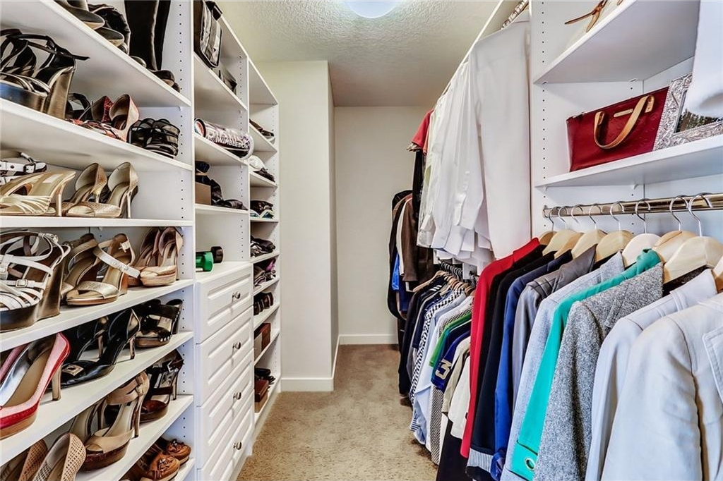 "This closet is big enough for 2 wardrobes...No need to have a ""his"" closet elsewhere!"